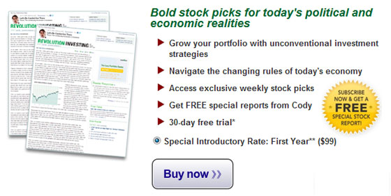 Click Now for this Special Offer on Revolution Investing