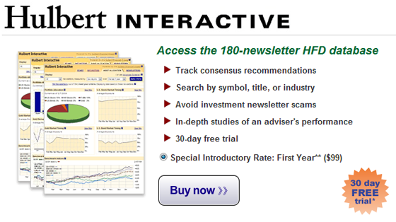 Click for a Free Trial of Hulbert Interactive