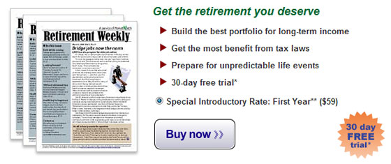 Click for Your Retiirement Weekly Subscription Offer