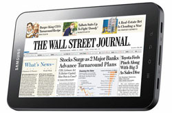 Wall Street Journal Mobile Edition for Students